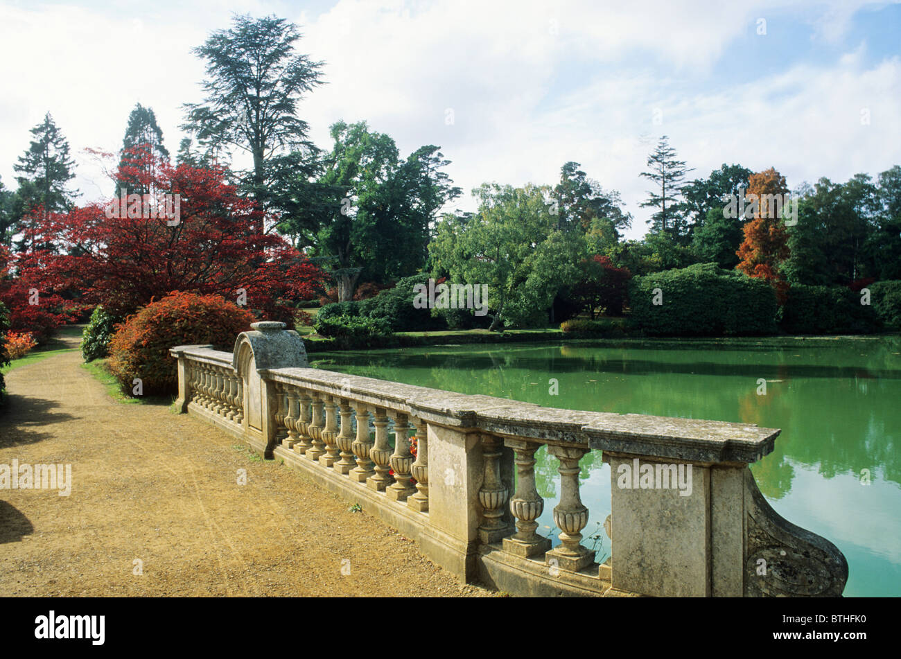 Sheffield park sussex bridge over lake capability brown for Capability brown garden designs