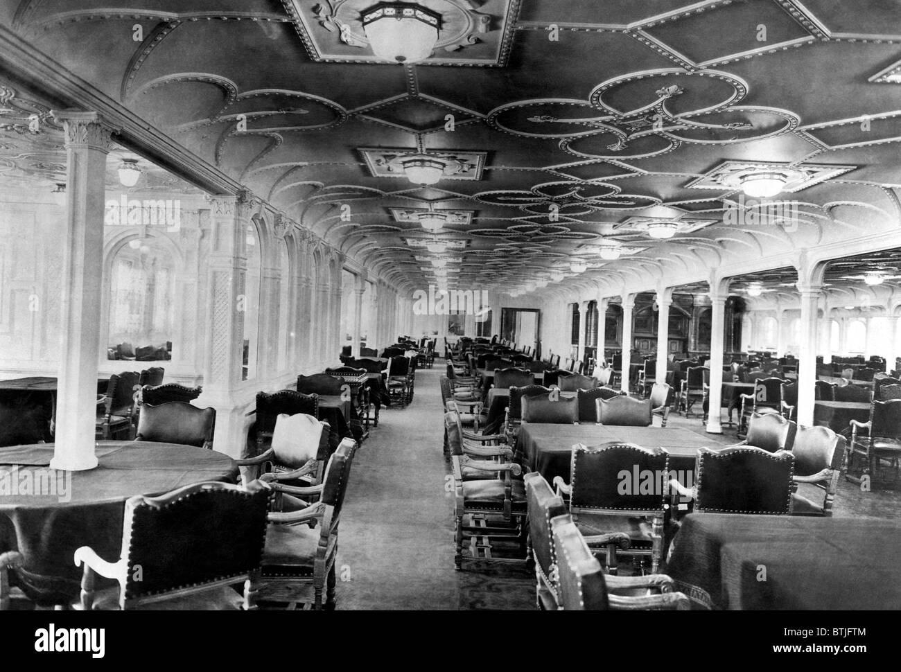 the titanic dining room stock photos & the titanic dining room