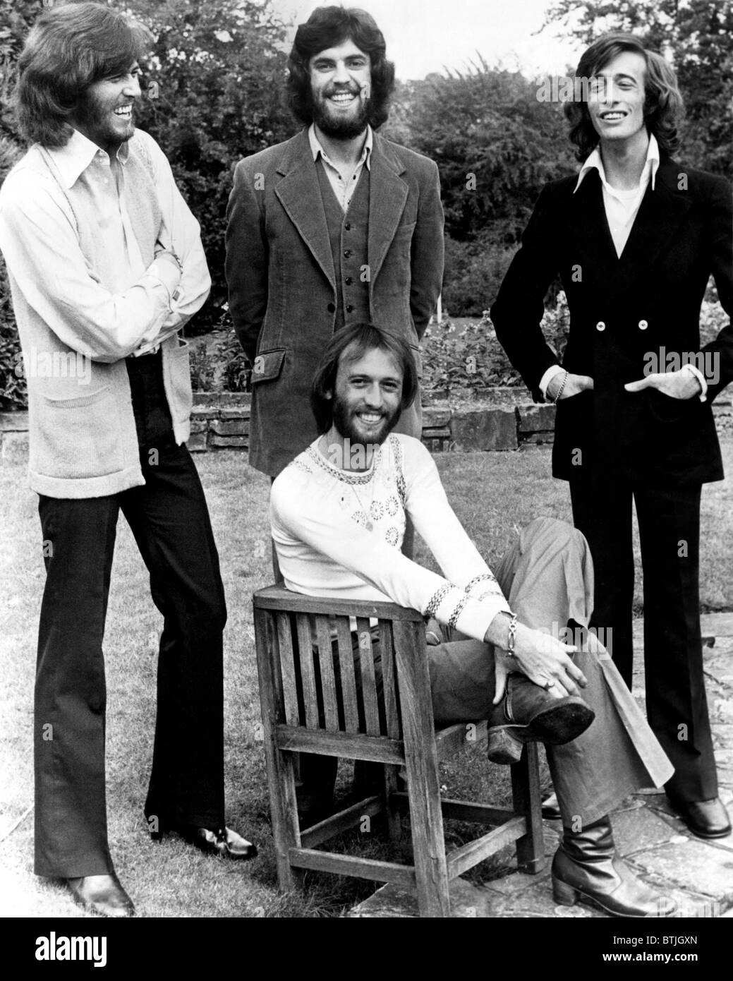 Bee Gees Standing L To
