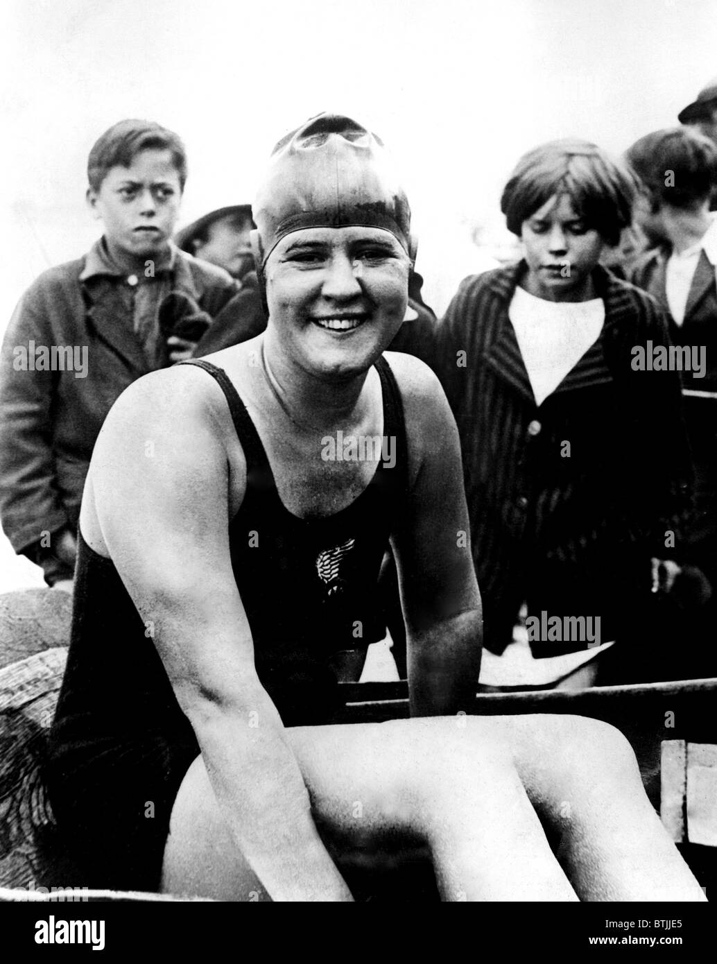 gertrude ederle Gertrude ederle, swimmer: born new york 23 october 1905 died wyckoff, new jersey 30 november 2003in the gathering darkness of an august evening in 1926, a young new york woman named gertrude ederle staggered ashore at kingsdown, just south of deal in kent she was the first woman to.