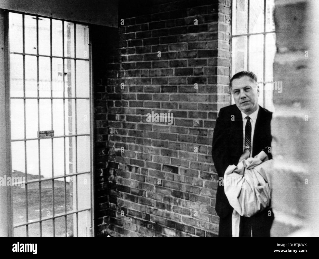 Teamsters Union chief James R. Hoffa waits for the final door to open as  sc 1 st  Alamy & Union Prisoner Stock Photos \u0026 Union Prisoner Stock Images - Alamy