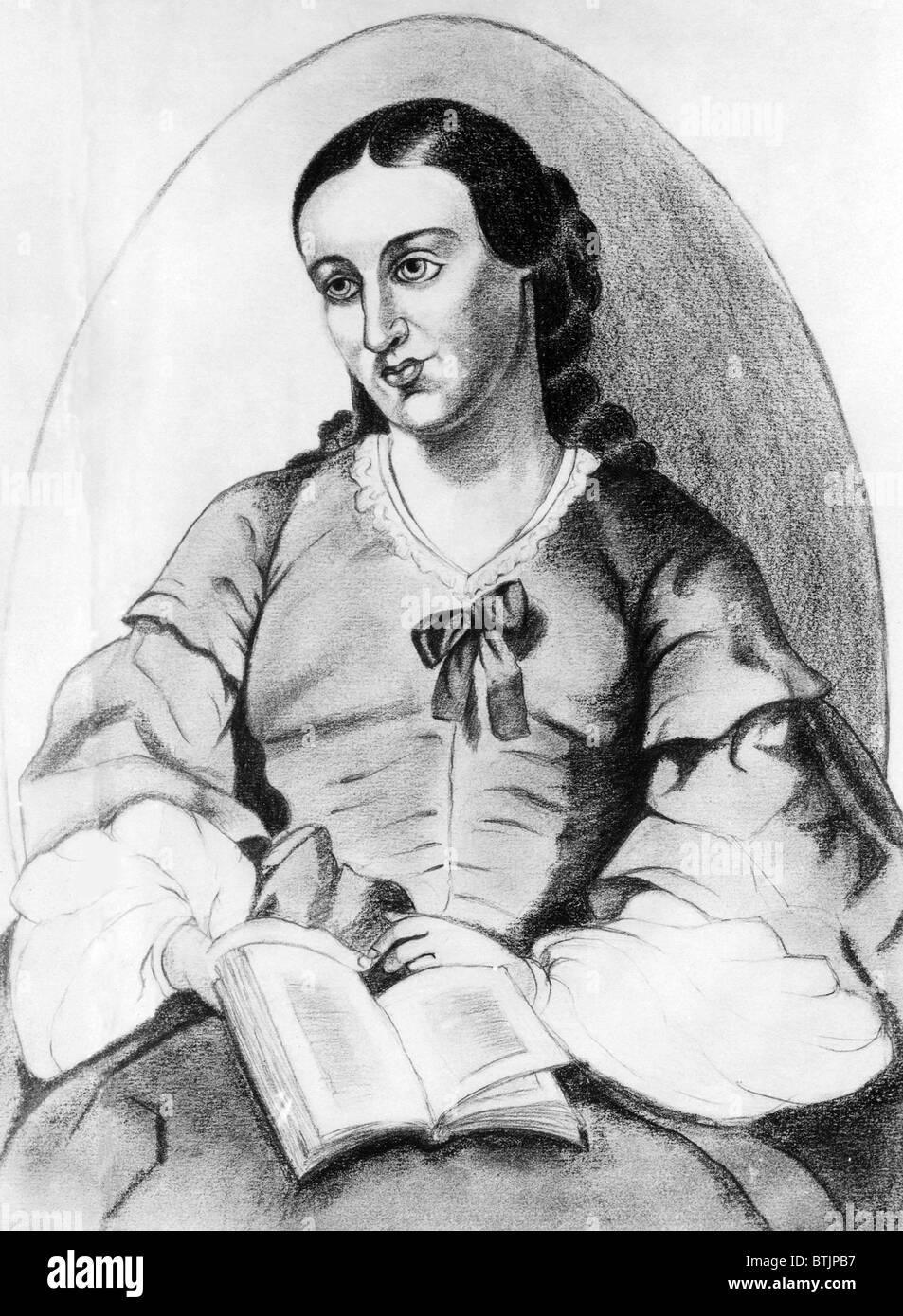 pioneer woman clothing drawing. a pencil drawing of america\u0027s pioneer feminist margaret fuller by s.w. bergman. ca. mid 1800s. woman clothing