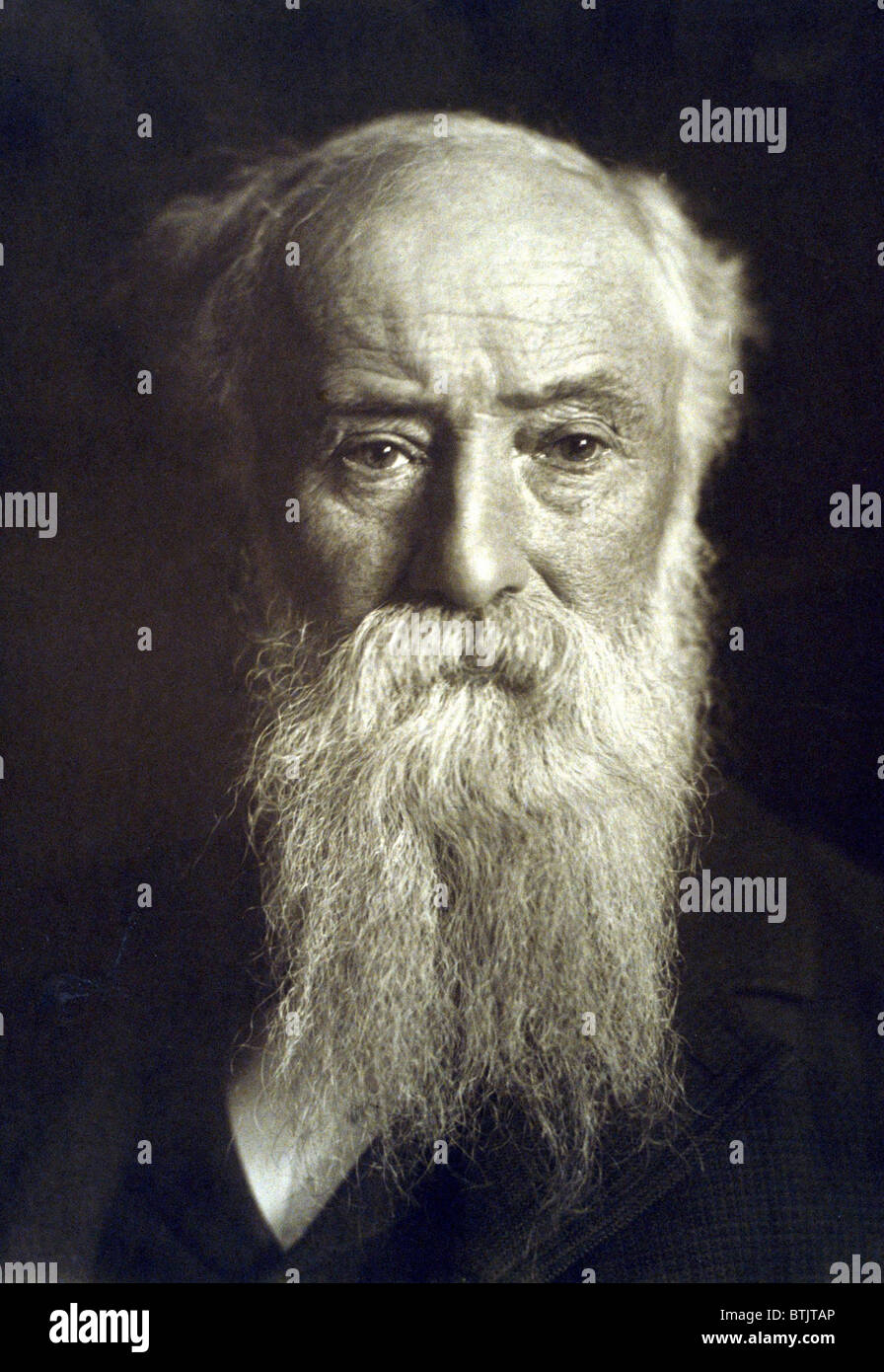 John Burroughs (1837-1921) wrote on nature subjects and inspired the early conservation - john-burroughs-1837-1921-wrote-on-nature-subjects-and-inspired-the-BTJTAP