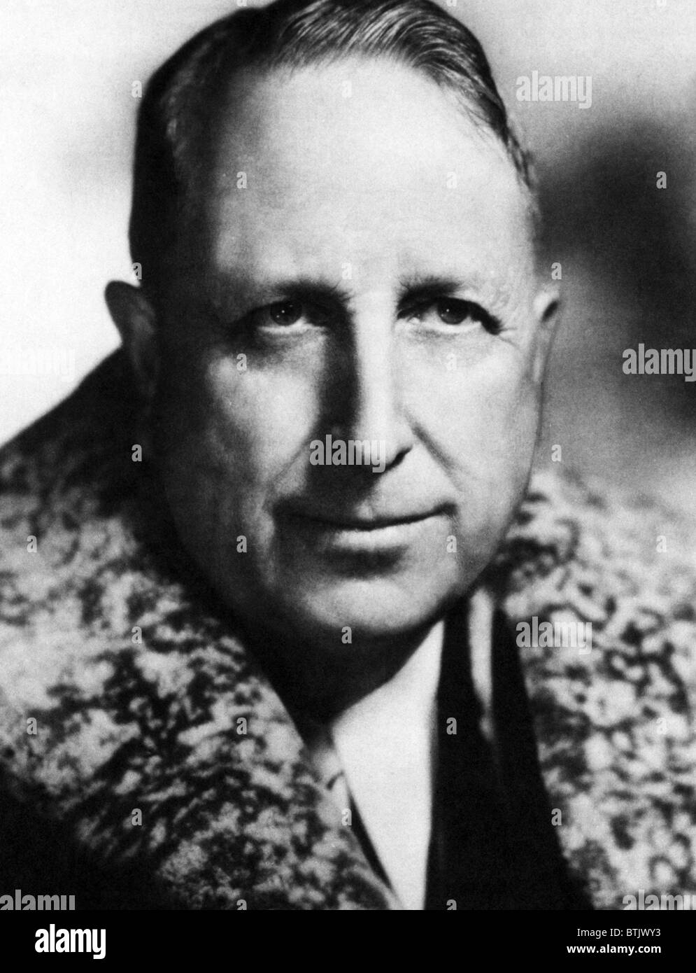 William Randolph Hearst (1863-1951) Newspaper Publisher, ca 1940s ...