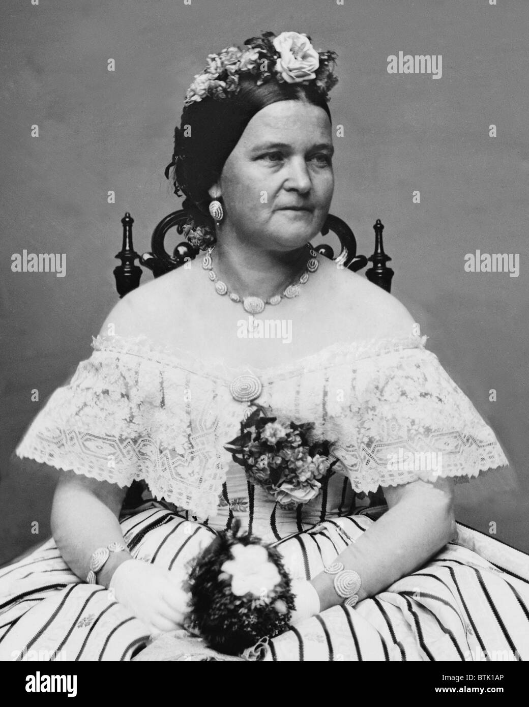 Mary Todd Lincoln 1818 1882 Wife Of Abraham Lincoln In