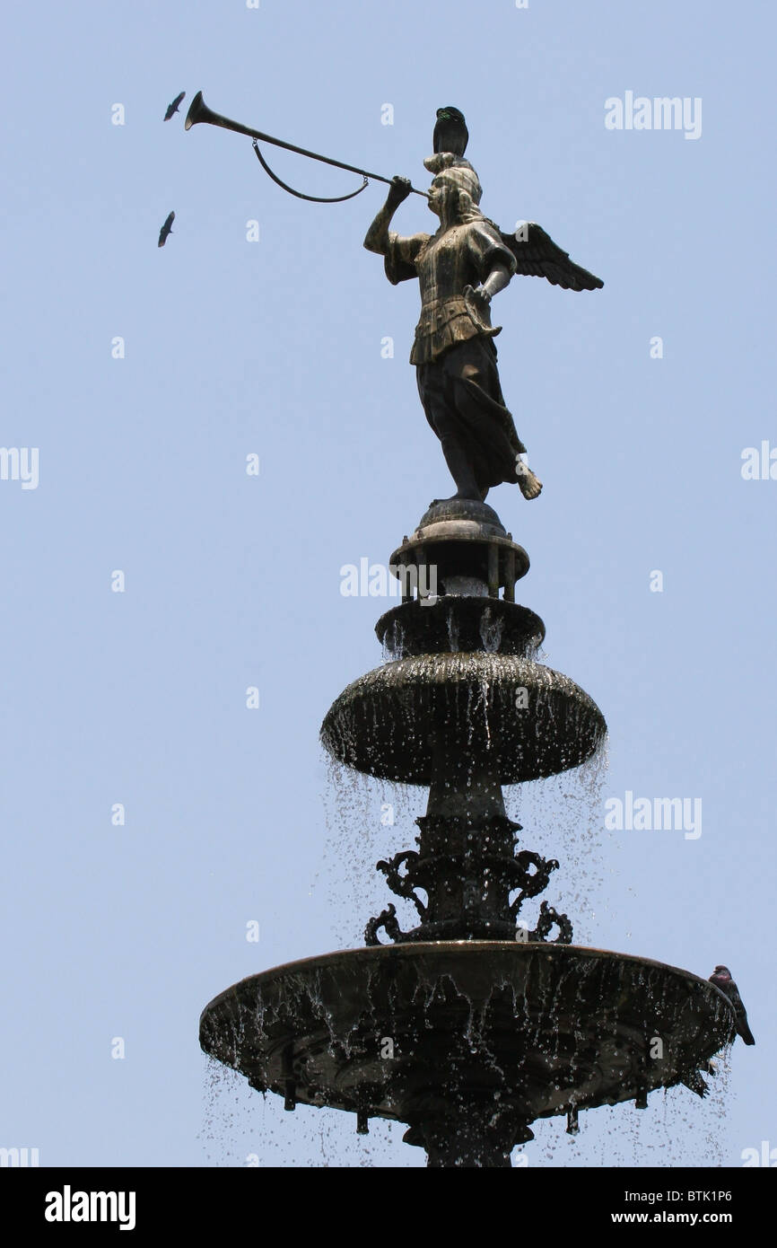 Water fountains lima - Fuente Agua Water Fountain Plaza Mayor Lima Peru South America