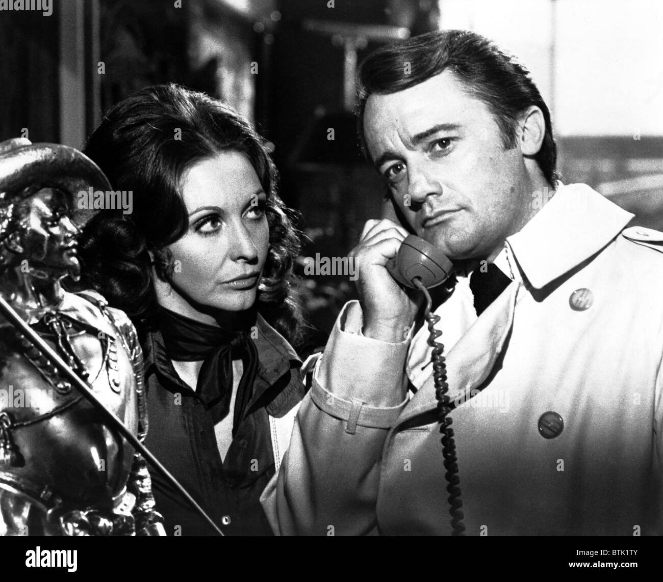 tv series stock photos tv series stock images alamy the protectors robert vaughn nyree dawn porter 1972 1973 stock image