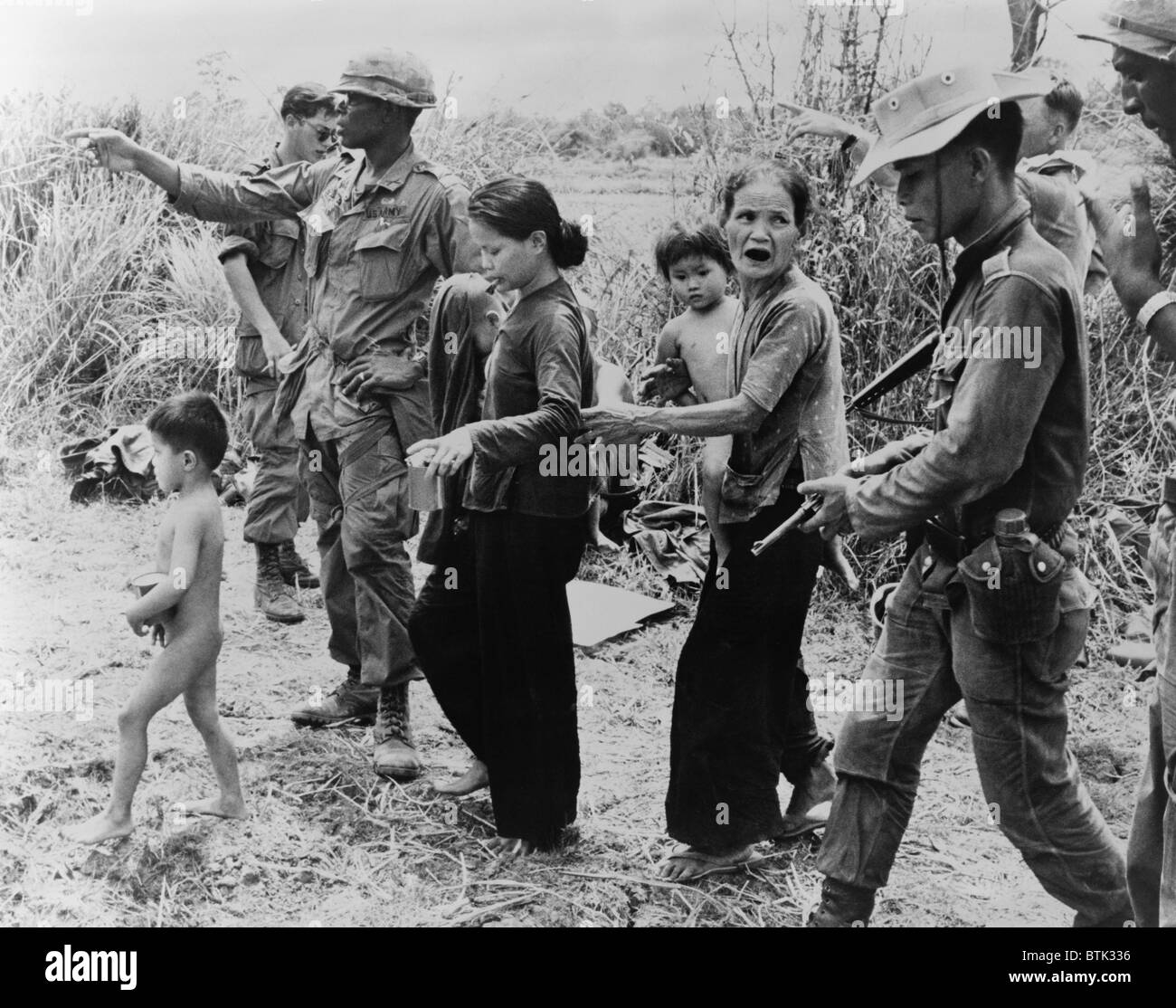 Civilians suffered greatly during the vietnamese war in a war zone american and vietnamese