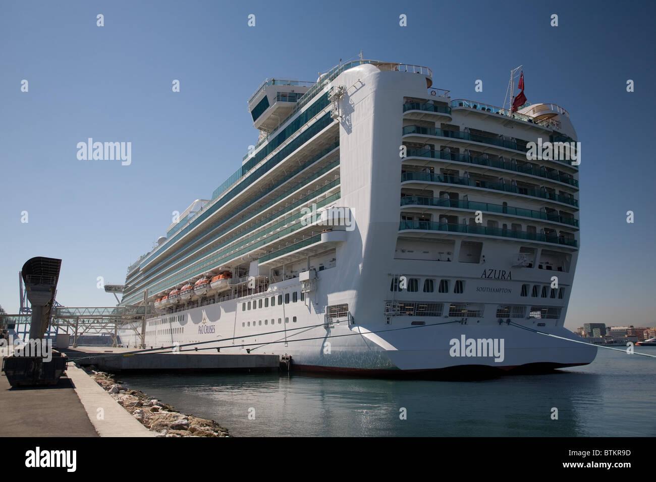 P And O P O Cruise Ship Azura Stock Photo Royalty Free Image - P and o cruises ships
