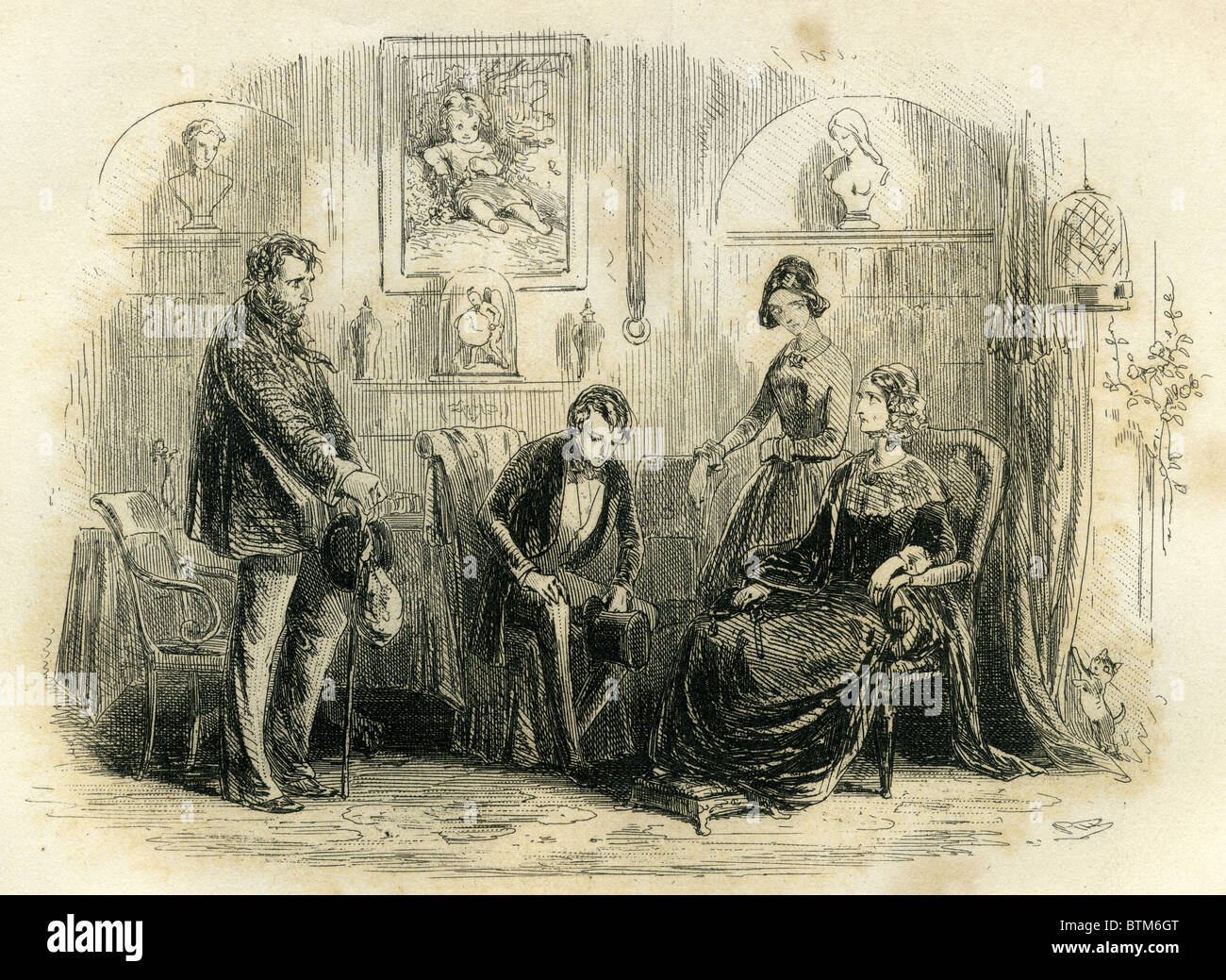 david copperfield mr peggotty and mrs steerforth stock photo david copperfield mr peggotty and mrs steerforth