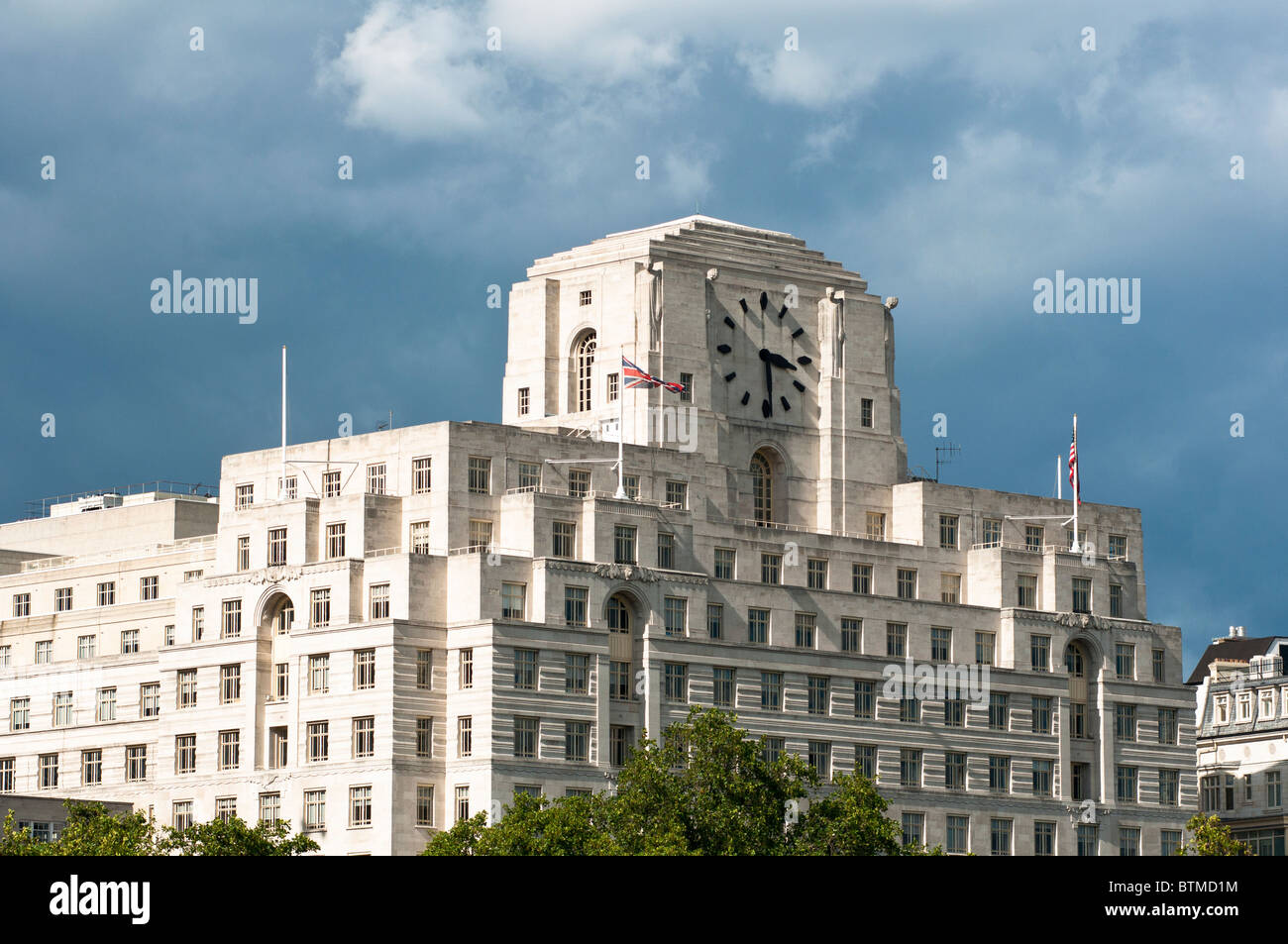 Art Deco Shell Mex Building London Uk Stock Photo Royalty Free Image 3241
