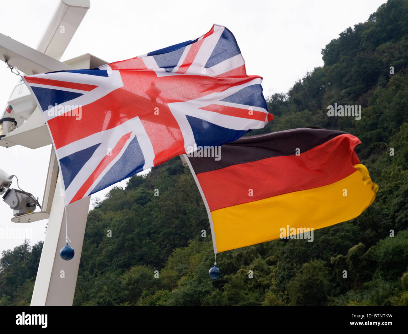 british and german flags stock photo royalty free image 32442477