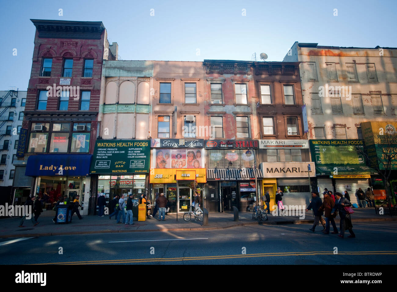 125th street clothing stores