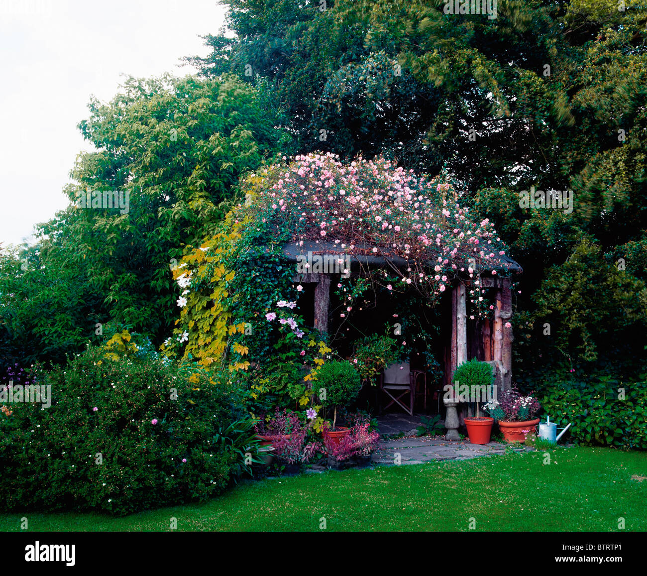 Butterstream Gardens, Co Meath, Ireland; Rustic Summer ...