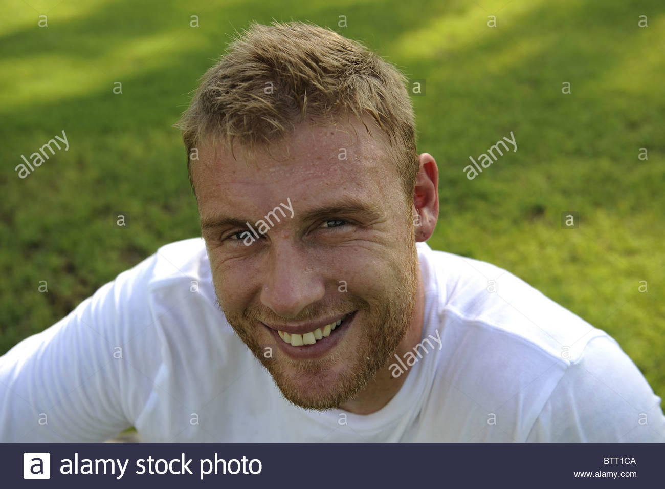 Andrew Freddie Flintoff Feature Jumeirah Beach Hotel Dubai Pic Andy Hooper CRICKETERS CRICKETER CRICKET PLAYER SPORTSPERSON - andrew-freddie-flintoff-feature-jumeirah-beach-hotel-dubai-pic-andy-BTT1CA