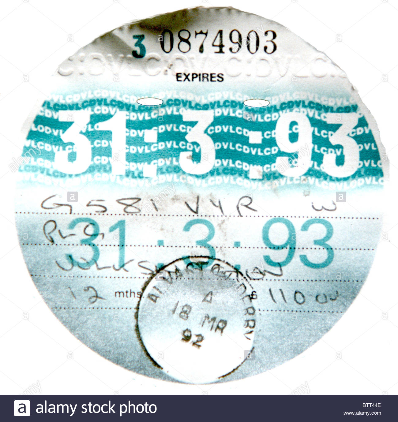 Check road tax expiry date online