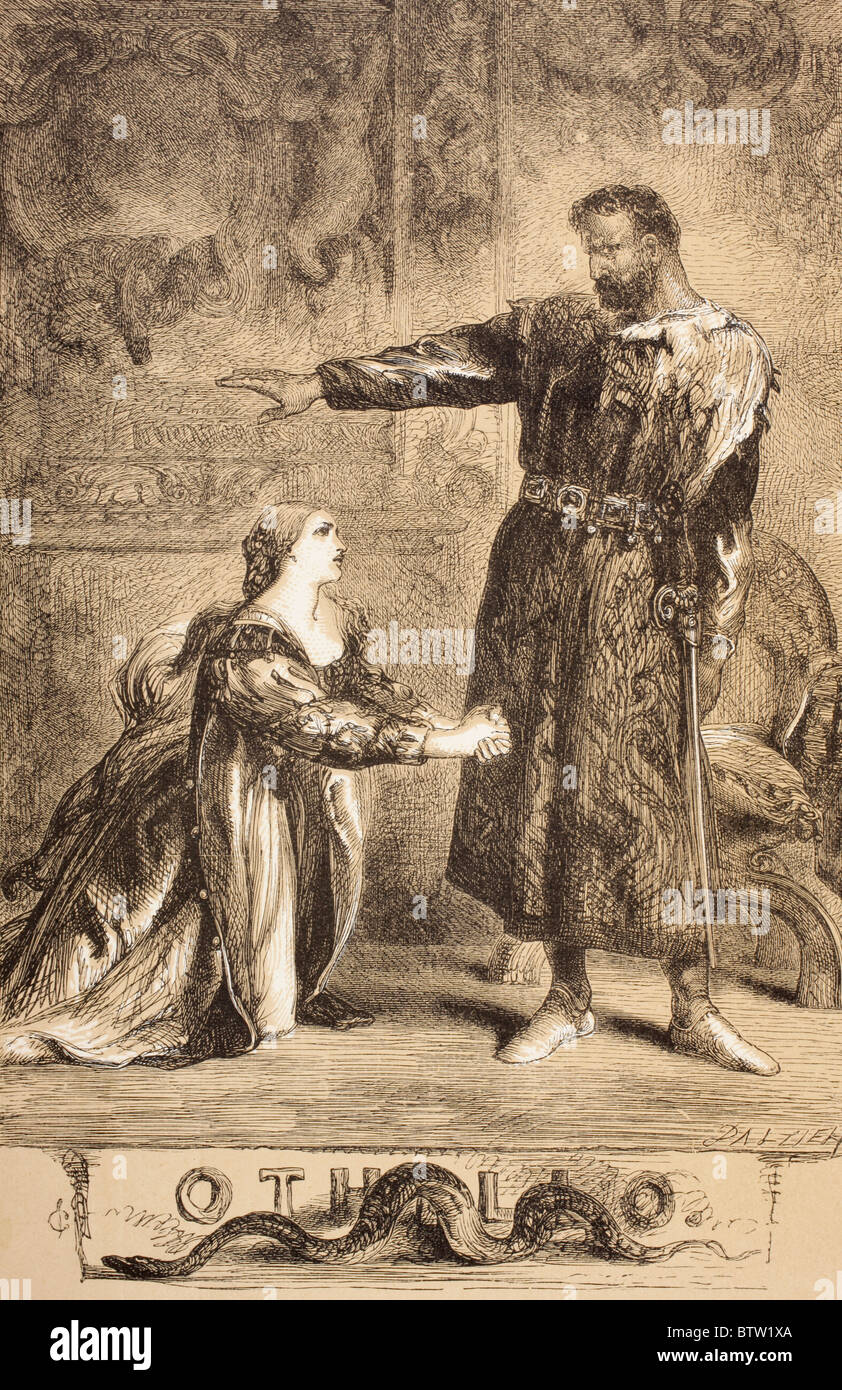 the use of symbolism in othello by william shakespeare Use of imagery in othello in william shakespeare's othello, the use of imagery and metaphors is significant in conveying meaning as it helps to establish the dramatic atmosphere of the play and reinforce the main themes.