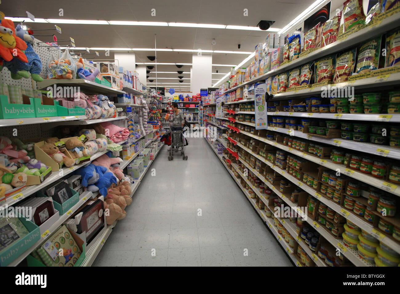 Walmart superstore in Kitchener, Ontario, Canada Stock Photo ...