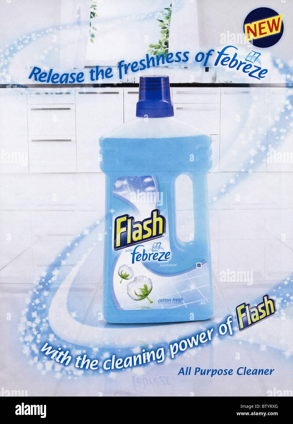 modern advertisement in english magazine dated 2010 for flash modern advertisement in english magazine dated 2010 for flash febreze all purpose cleaner