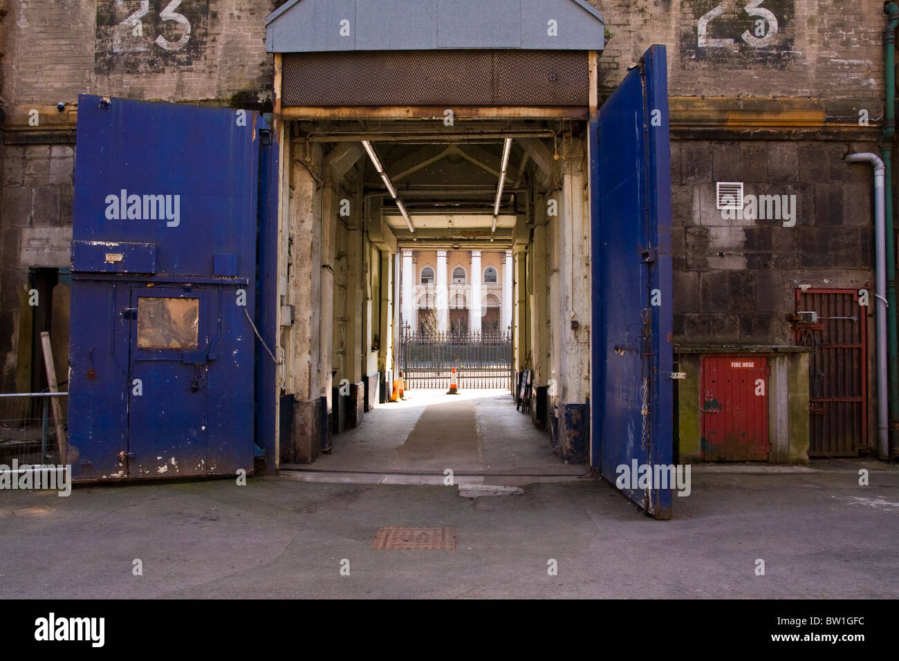Inner doors of Crumlin Road jail in Belfast looking out to the Crumlin Road courthouse & Inner doors of Crumlin Road jail in Belfast looking out to the ... Pezcame.Com