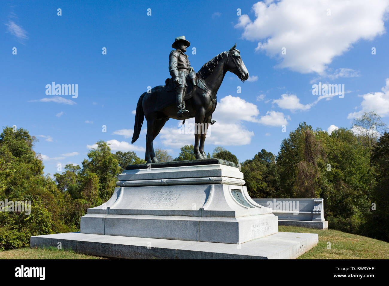 general grant headquarters stock photos general grant statue of general ulysses s grant on horseback grant s headquarters area vicksburg national military