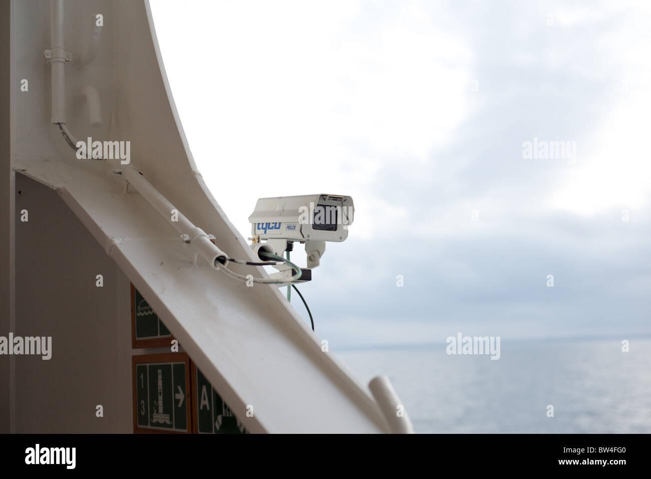 A Cctv Camera On The Promenade Deck Of POs Cruise Ship The - Cruise ship cam