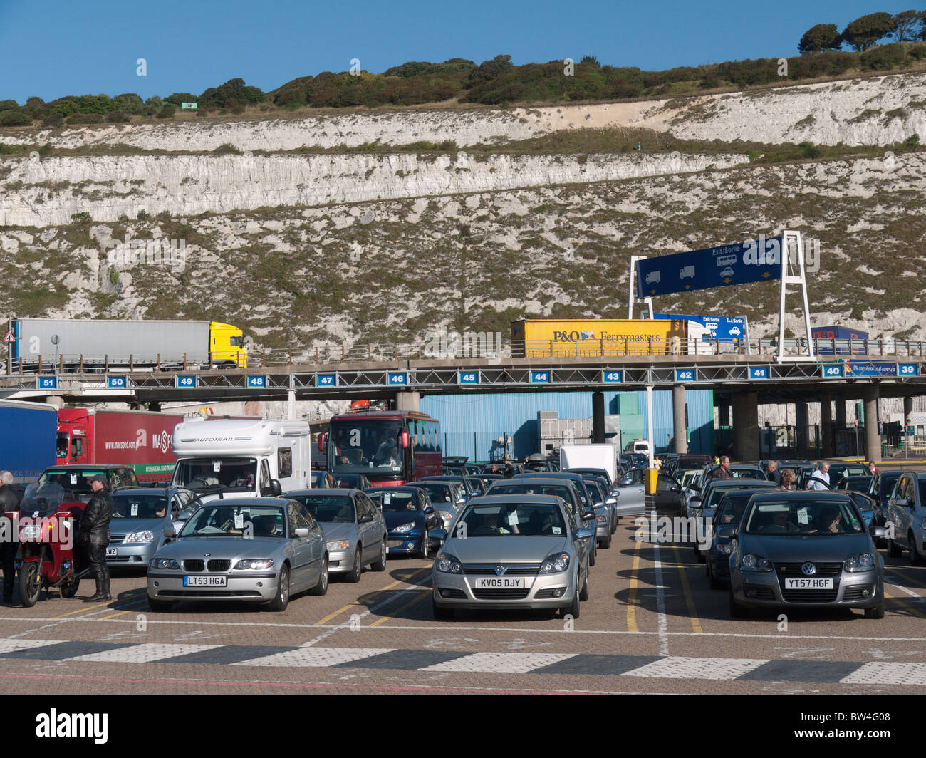 Car Parking At Dover Ferry Port