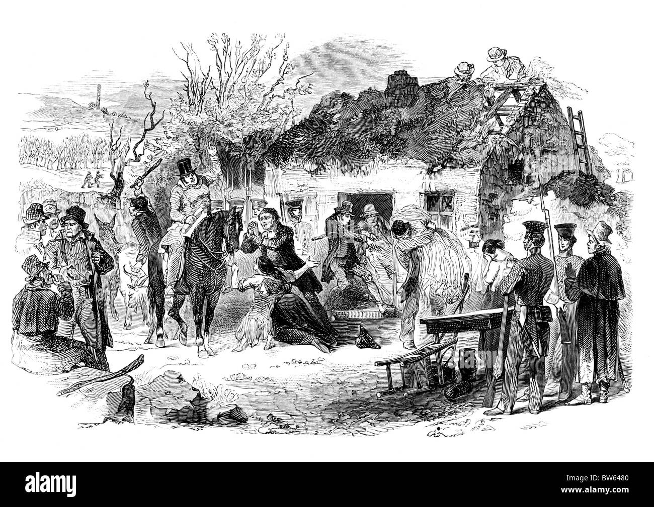 the-eviction-of-irish-peasant-tenants-by