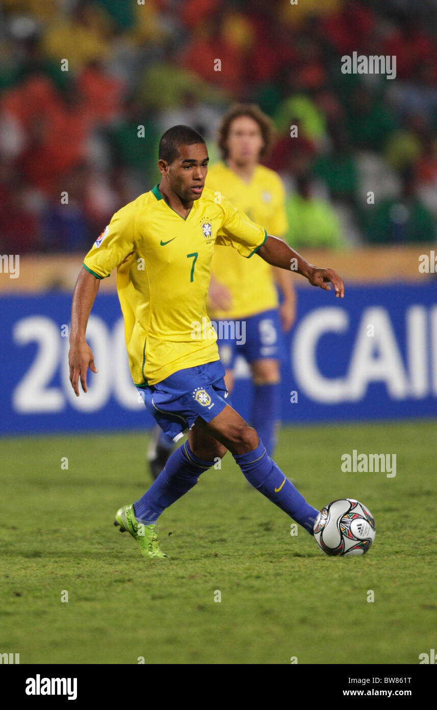 Alex Teixeira of Brazil in action during the FIFA U 20 World Cup