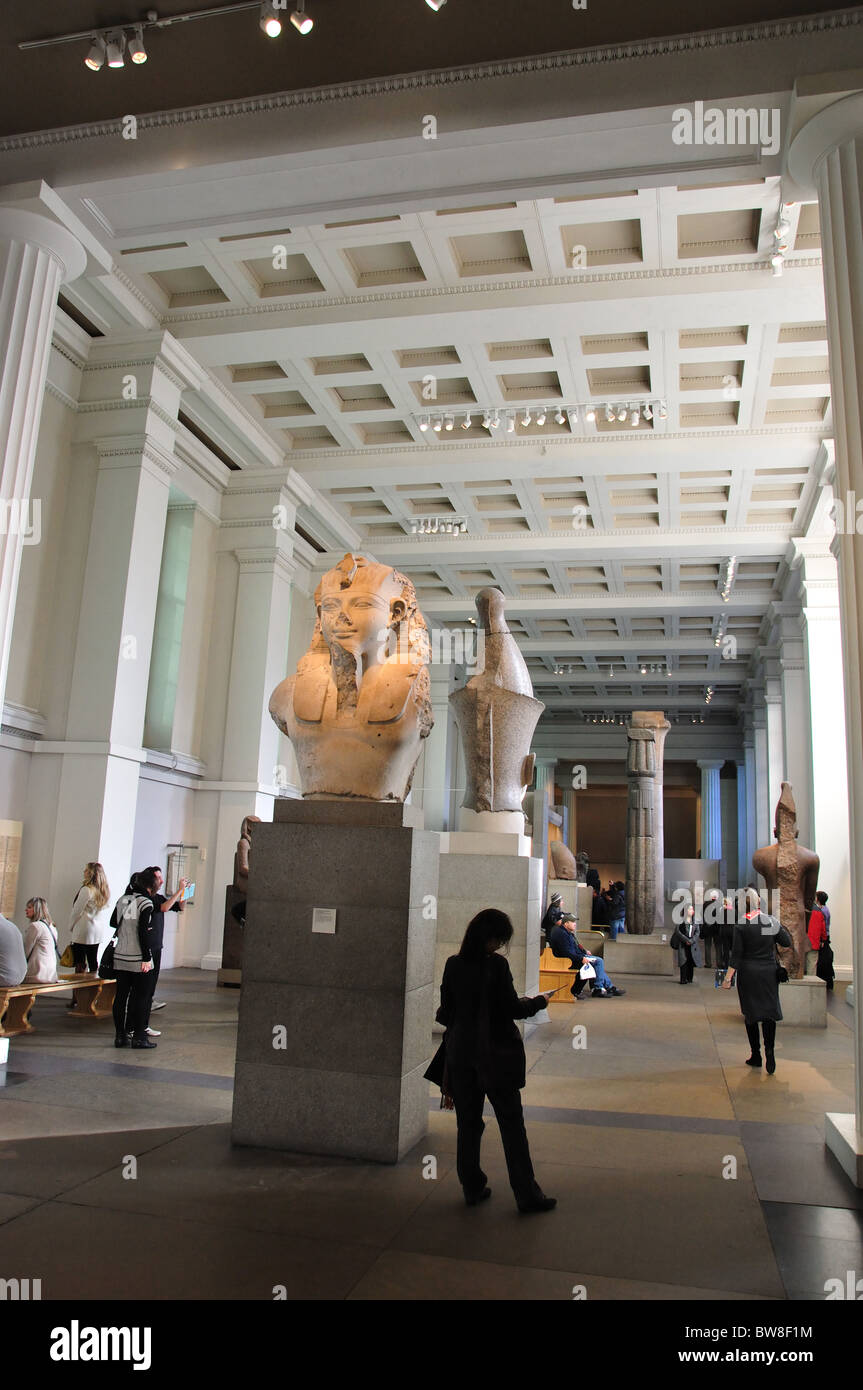 Room Egyptian Sculptures The British Museum Great Russell - Great museums in us