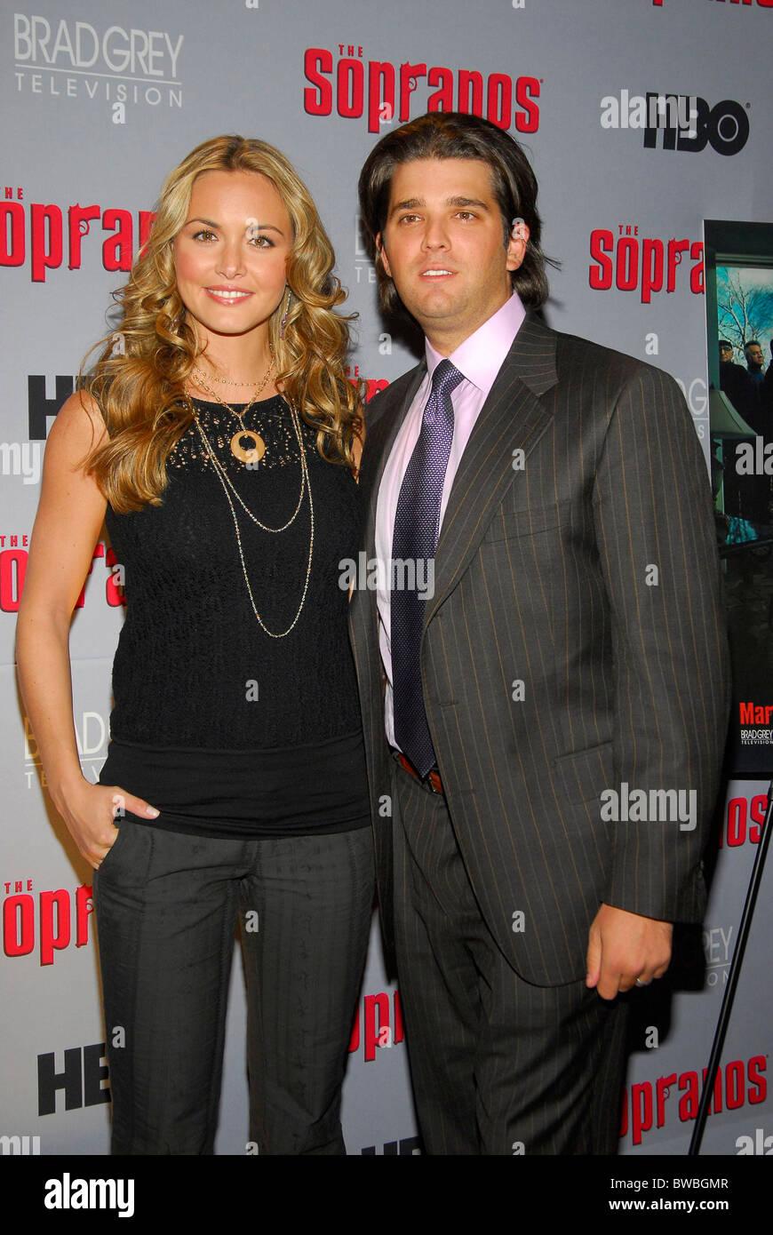 Hbo The Sopranos Final Season Premiere Stock Image
