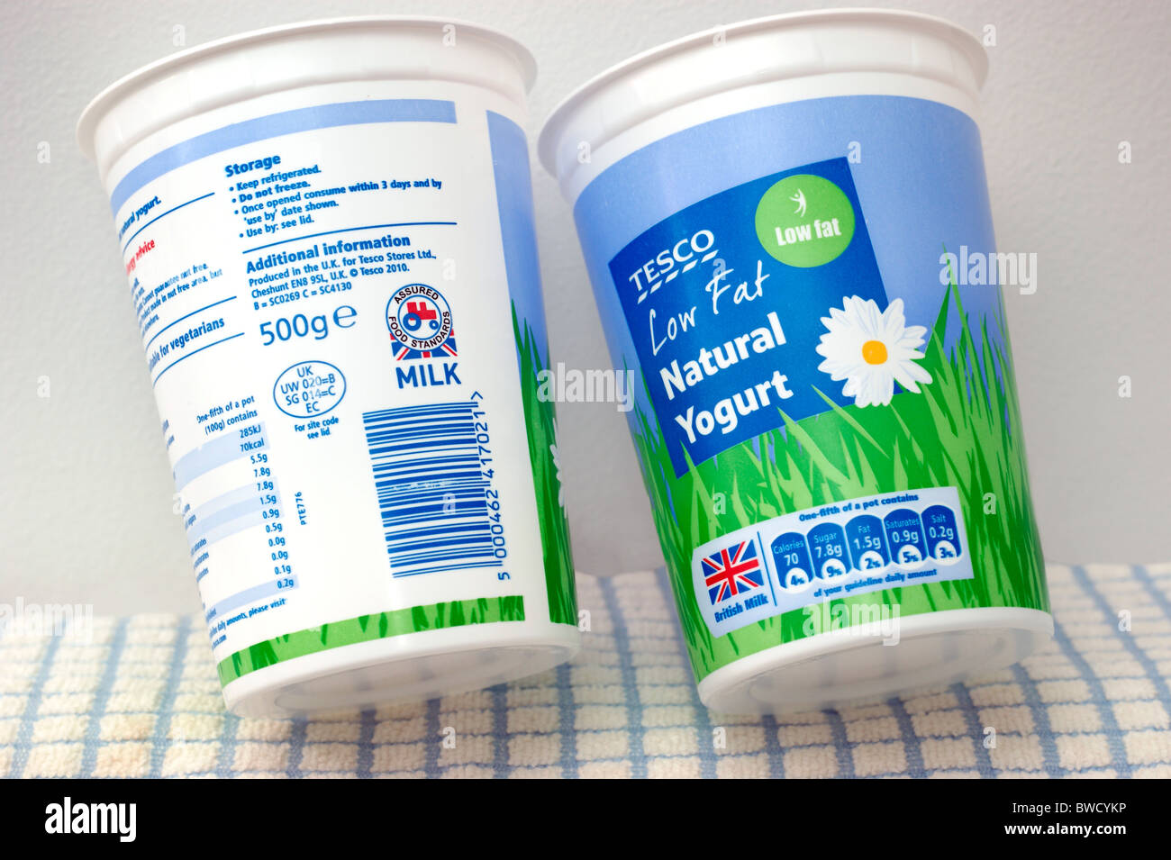 Tractor logo stock photos tractor logo stock images alamy tesco low fat natural yogurt with british logo the little red tractor symbol stock buycottarizona Gallery