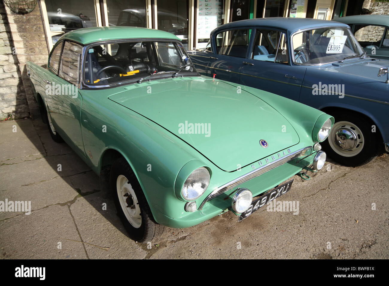 Sunbeam Alpine old sports car used for racing then offered for sale ...