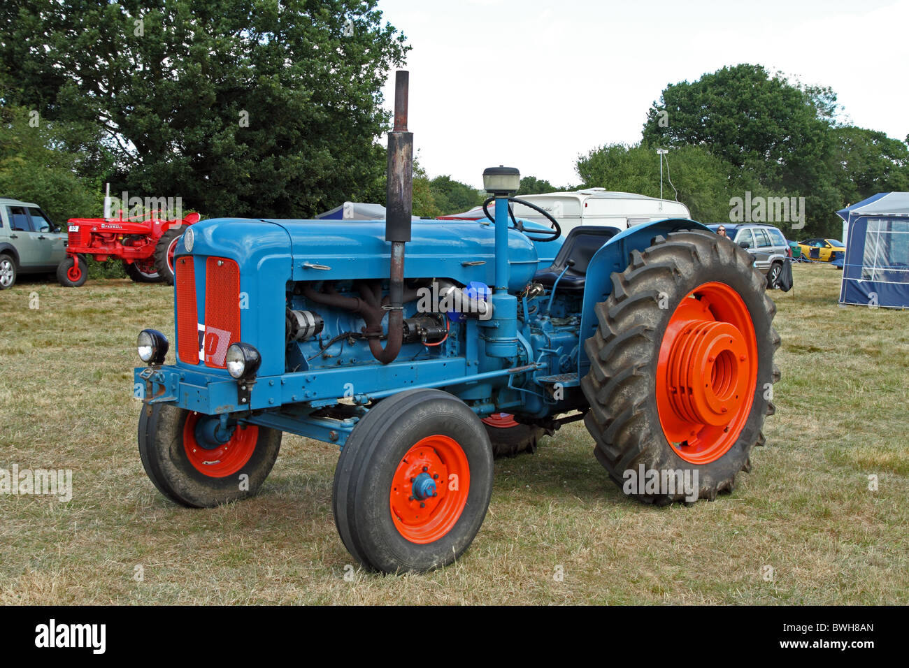 1948 fordson major tractor stock image