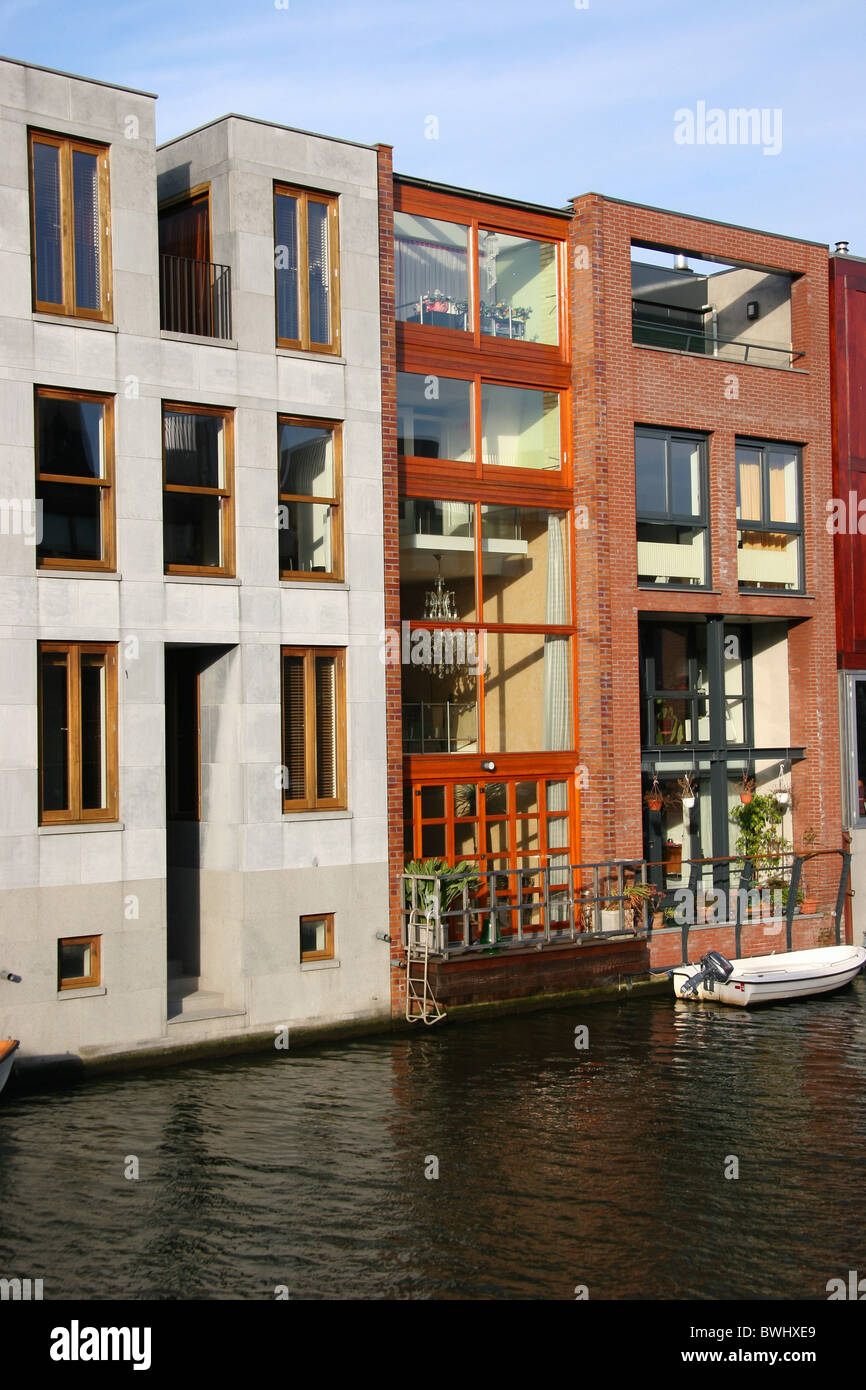 Modern Architecture Netherlands holland netherlands holland europe amsterdam row of houses modern
