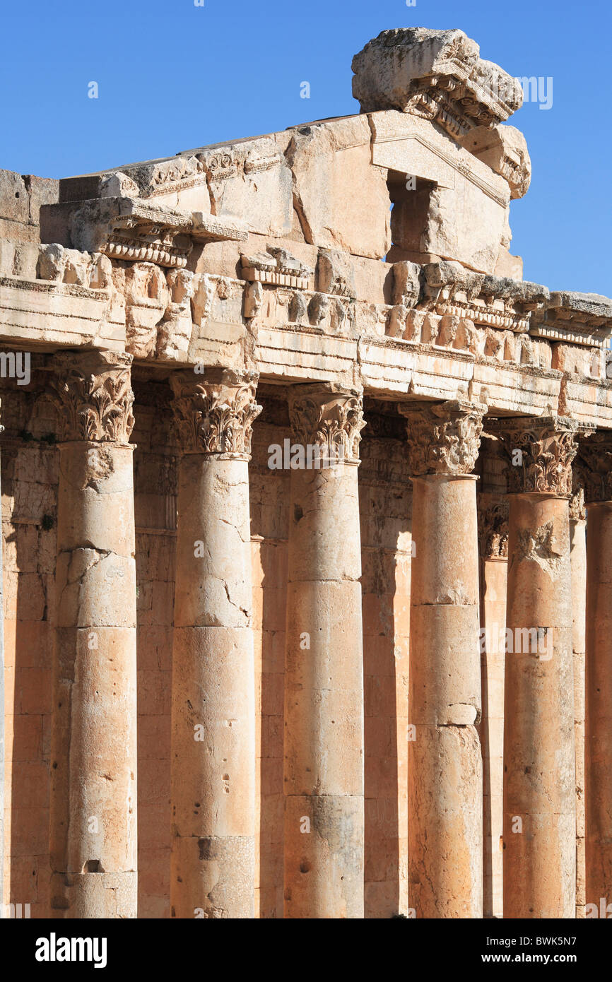 Roman Architecture Columns asia middle east oriental lebanon roman architecture ruins column