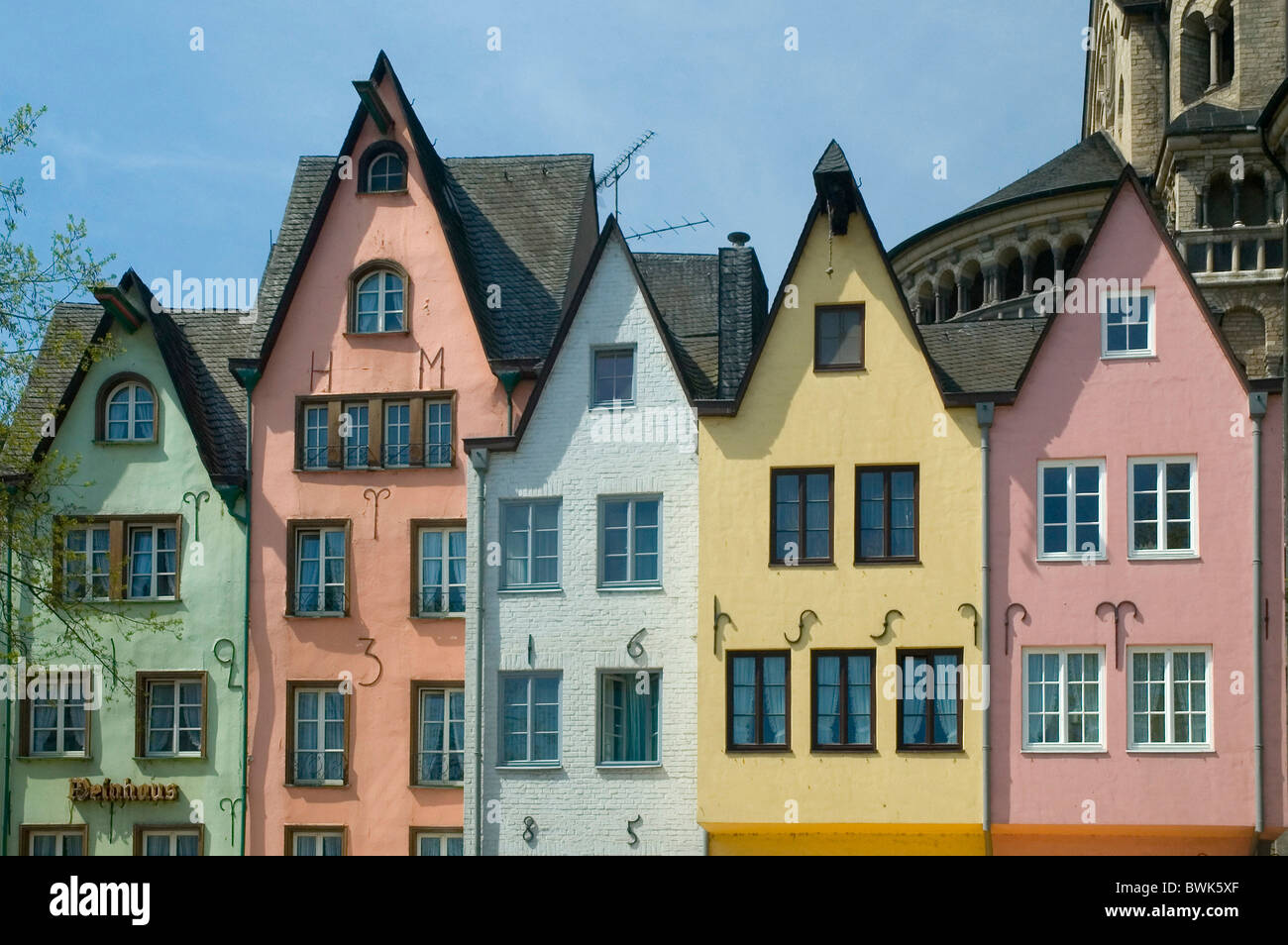 Excellent Cologne Martinswinkel Fish Market Old Town Facades Houses Homes Largest Home Design Picture Inspirations Pitcheantrous