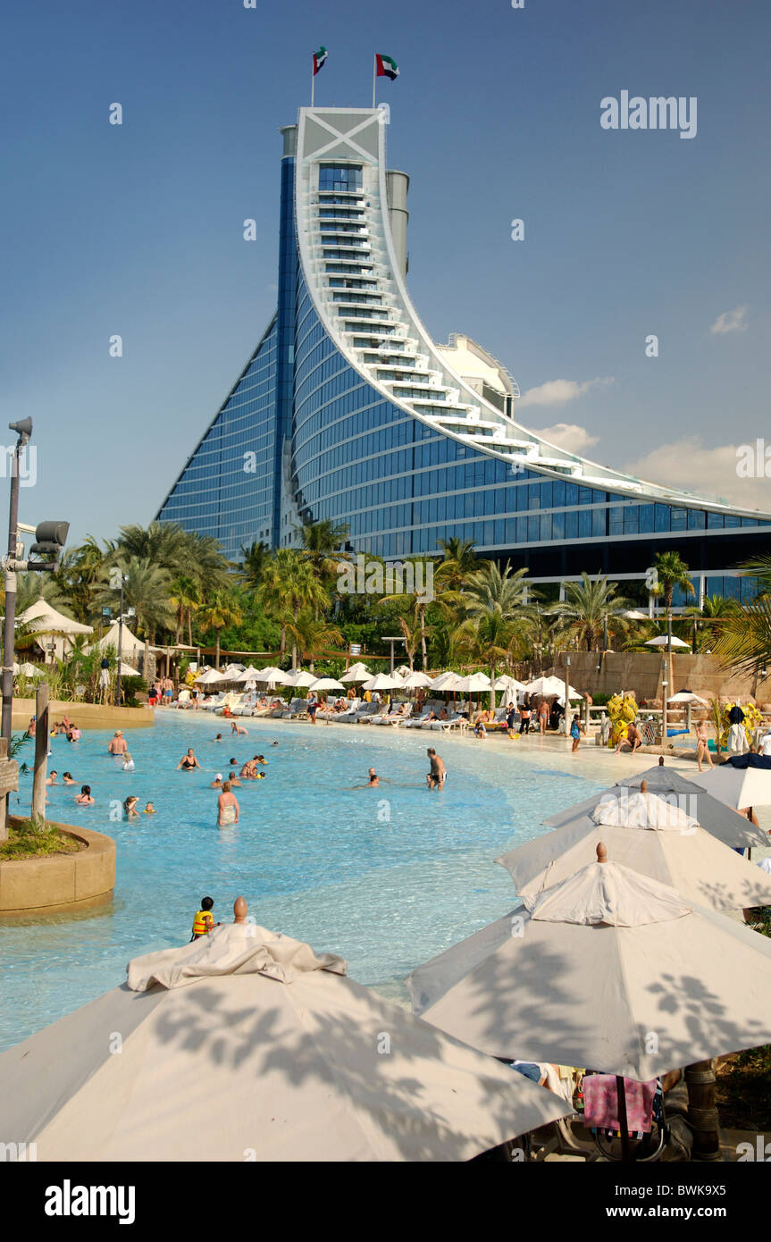Wild Wadi Water Park Dubai Town City Amusement Park Outdoor Swimming Stock Photo 33001645 Alamy