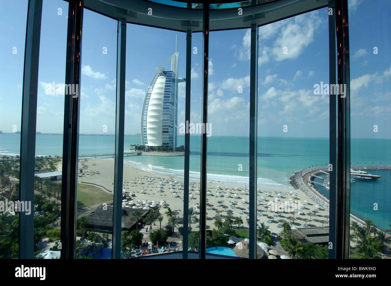 Burj al arab five star hotel skyscraper window overview for 5 star windows