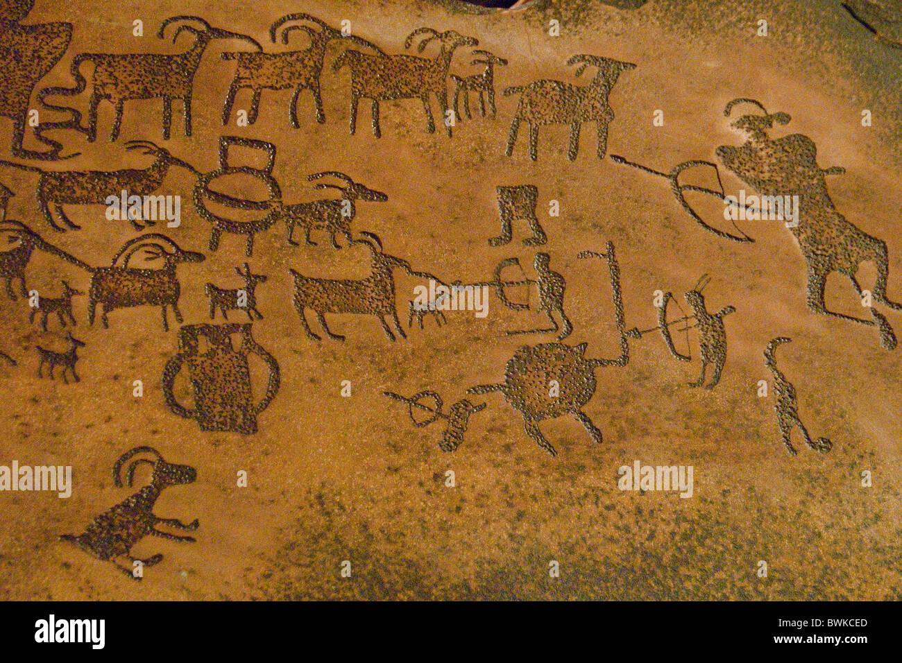 Petroglyphen rock paintings symbols natives simulation replica stock petroglyphen rock paintings symbols natives simulation replica prehistoric museum price utah usa biocorpaavc Image collections