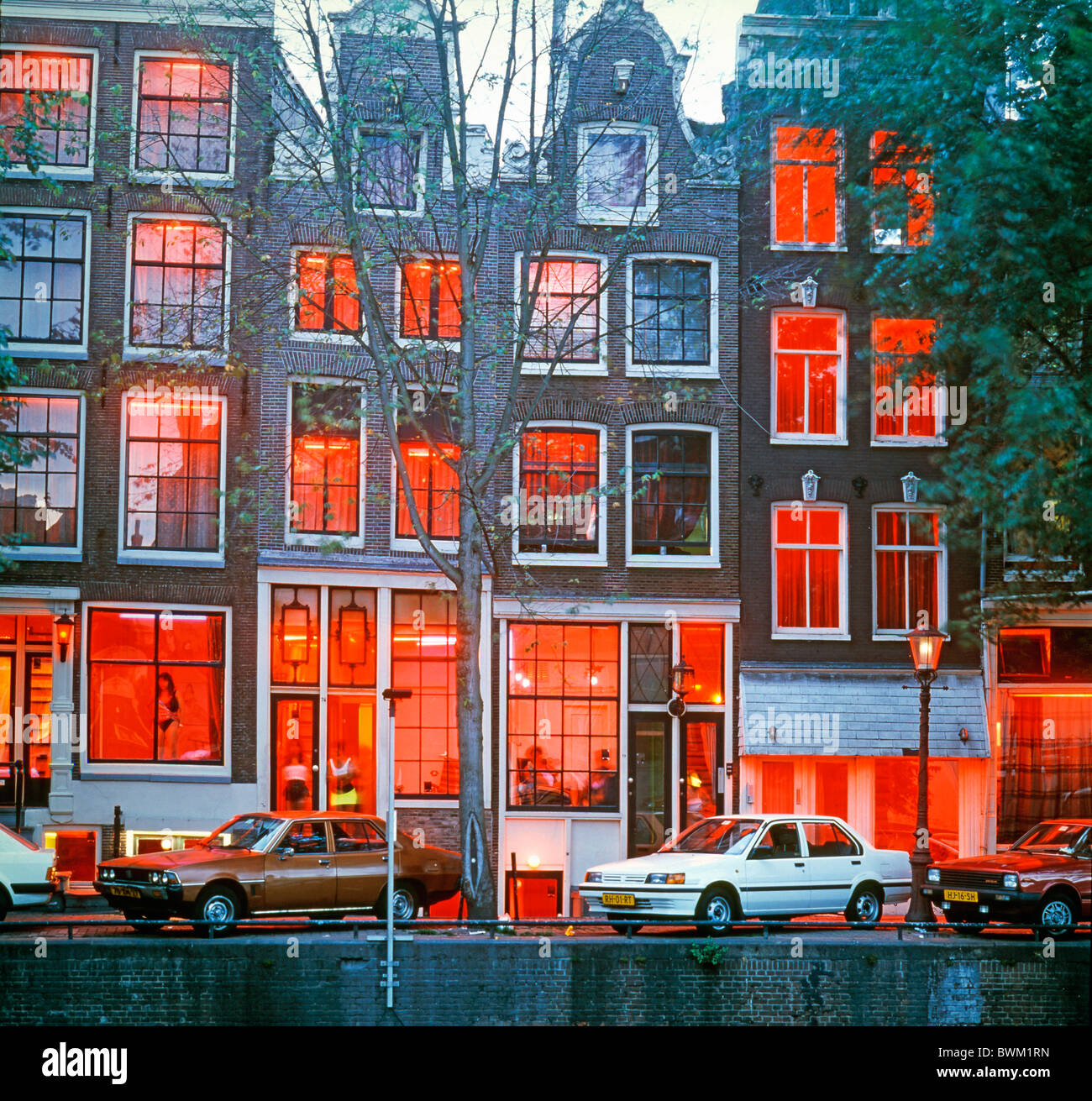 netherlands amsterdam red light district