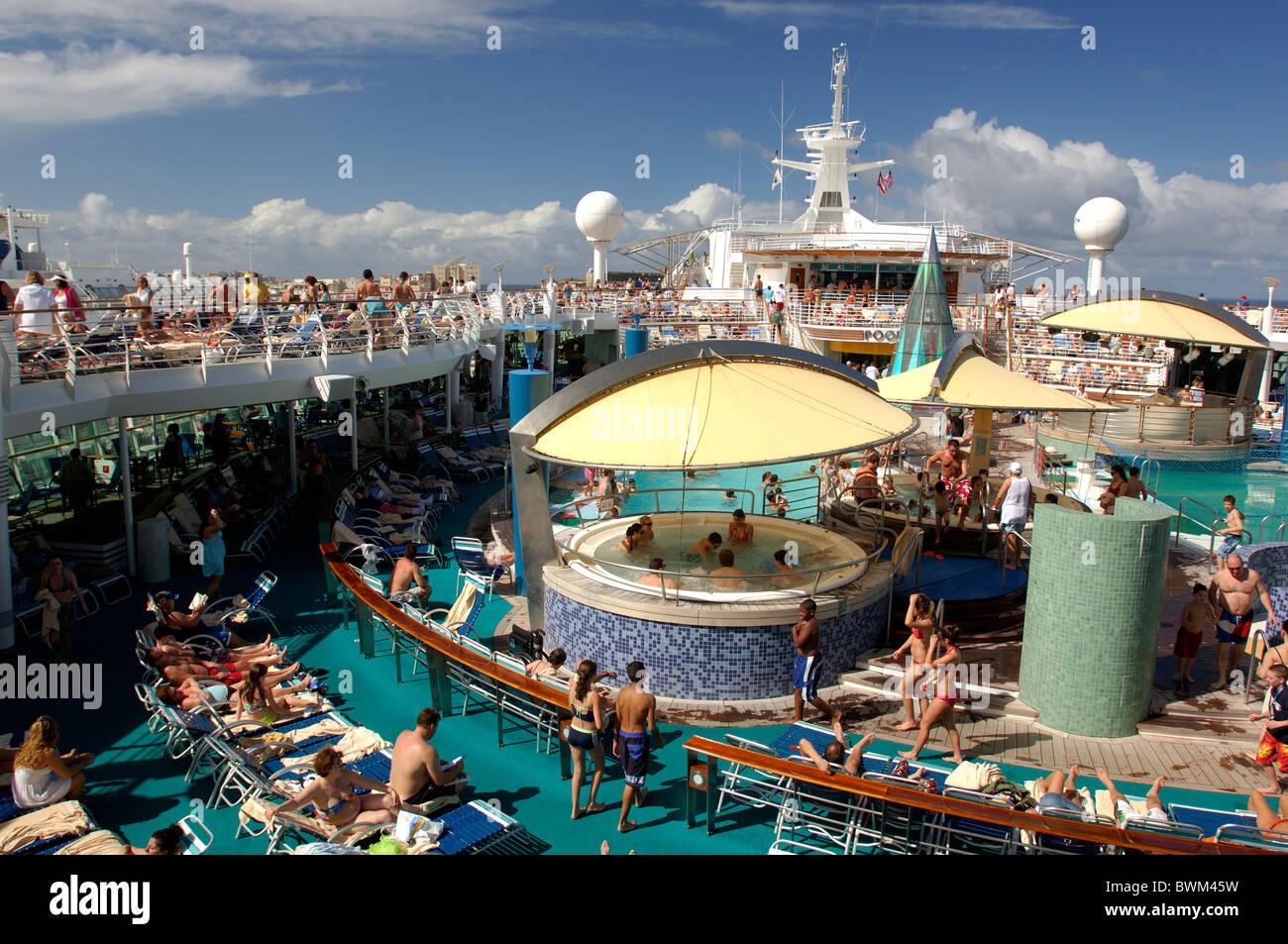 sun deck voyager of the seas royal caribbean cruise line san juan