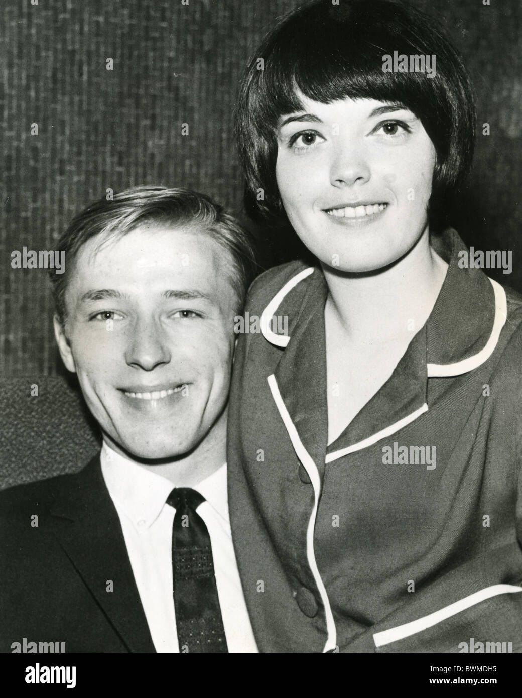 billie davis uk pop singer about stock photo royalty mike sarne and fellow uk pop singer billie davis in 1963 when they had a hit
