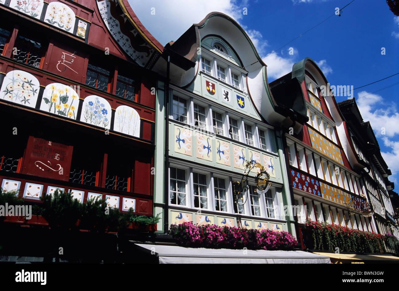 Switzerland Europe Appenzell canton Appenzell Innerrhoden Stock