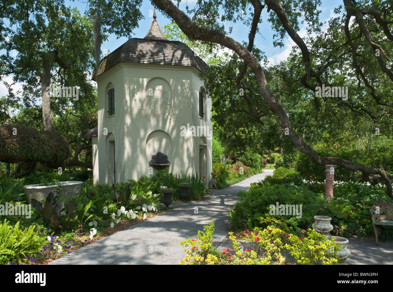 Louisiana Darrow Houmas House Plantation And Gardens Garconniere Stock Photo Royalty Free