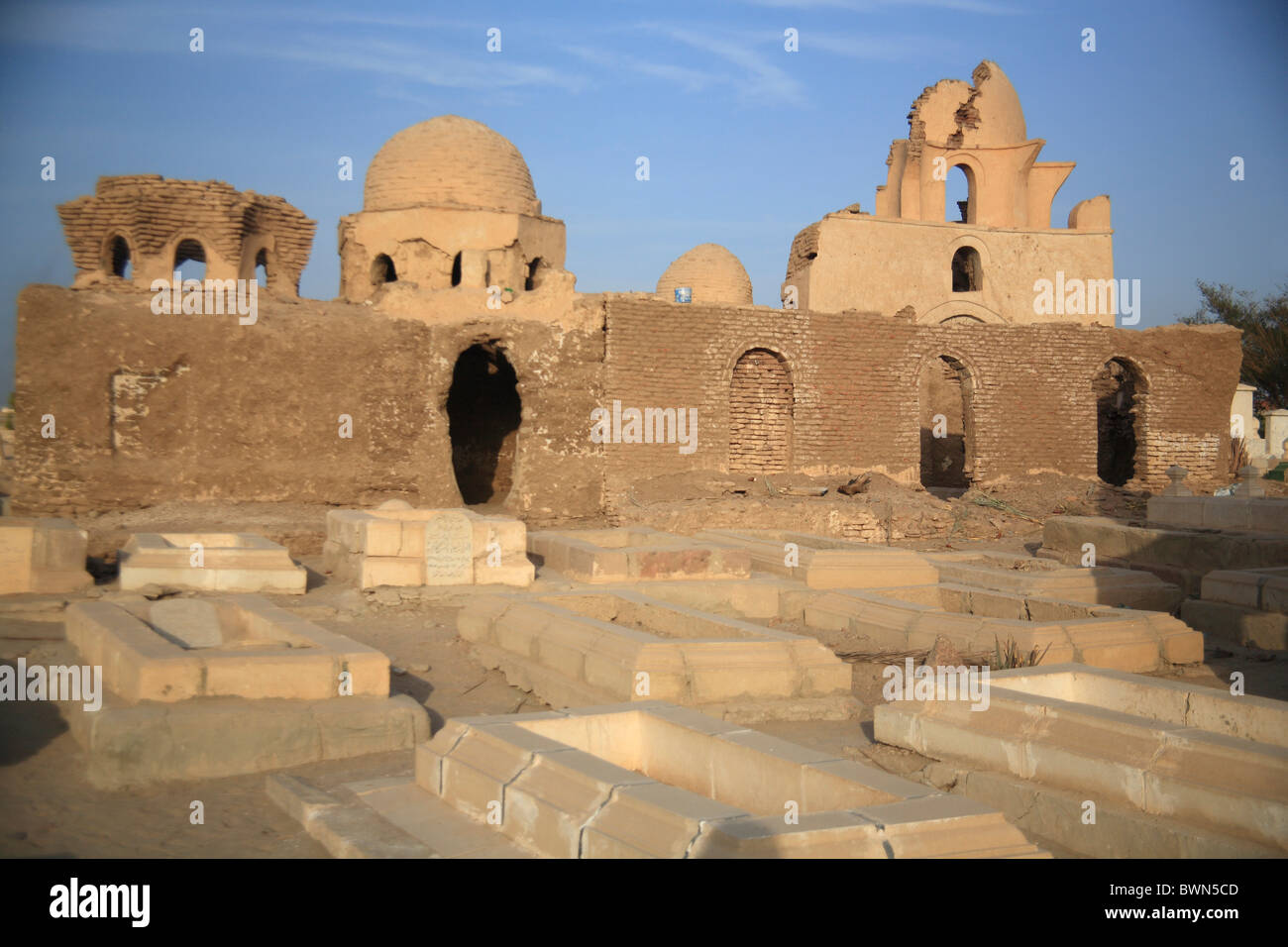 egypt north africa fatimid cemetery mausoleum aswan travel trip