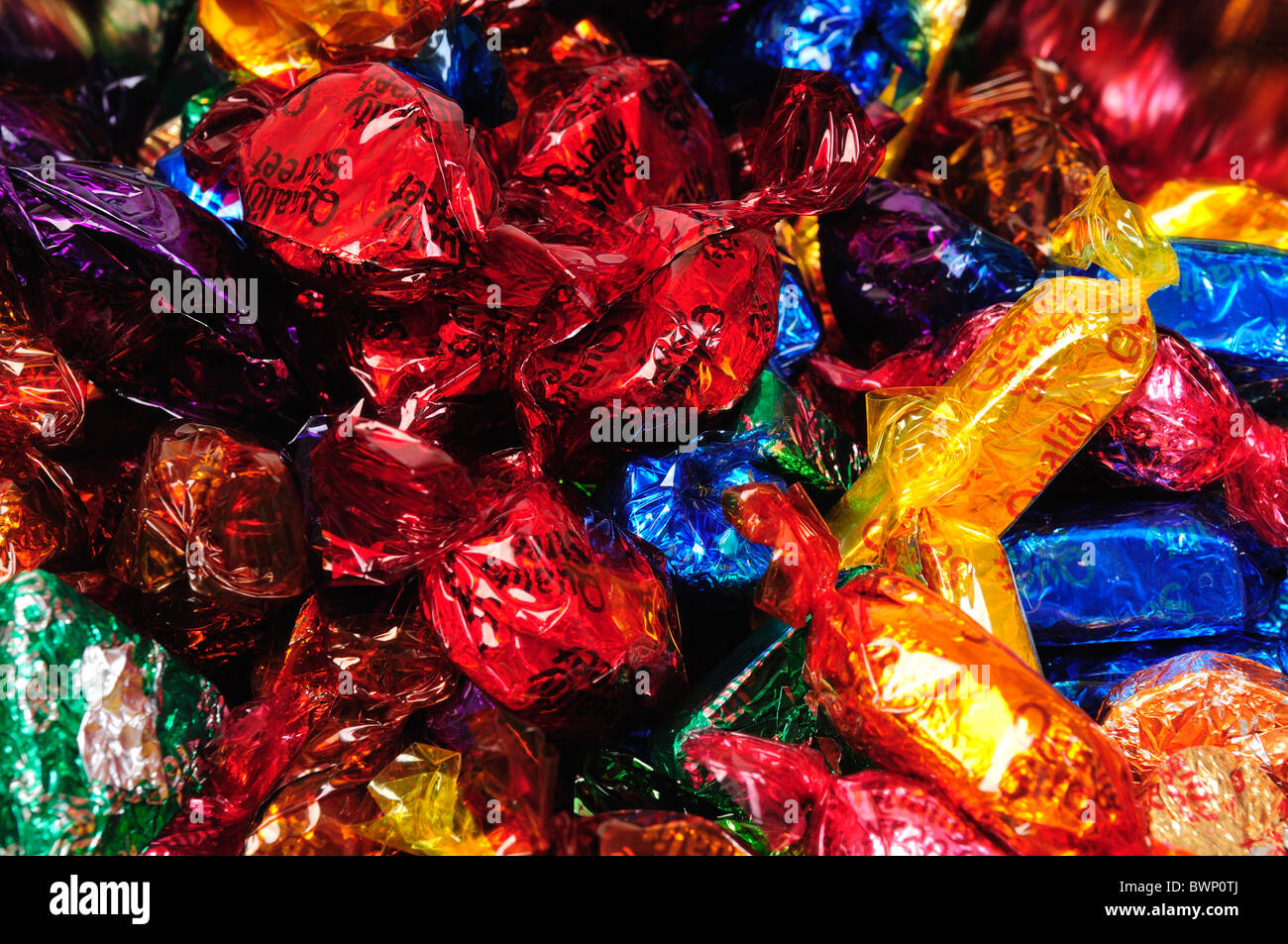 Quality Street Chocolate Sweets Stock Photo, Royalty Free Image ...