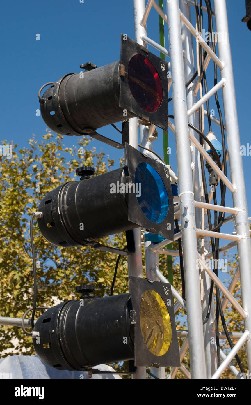 stage lighting light lights theater rig rigging rigger spotlight