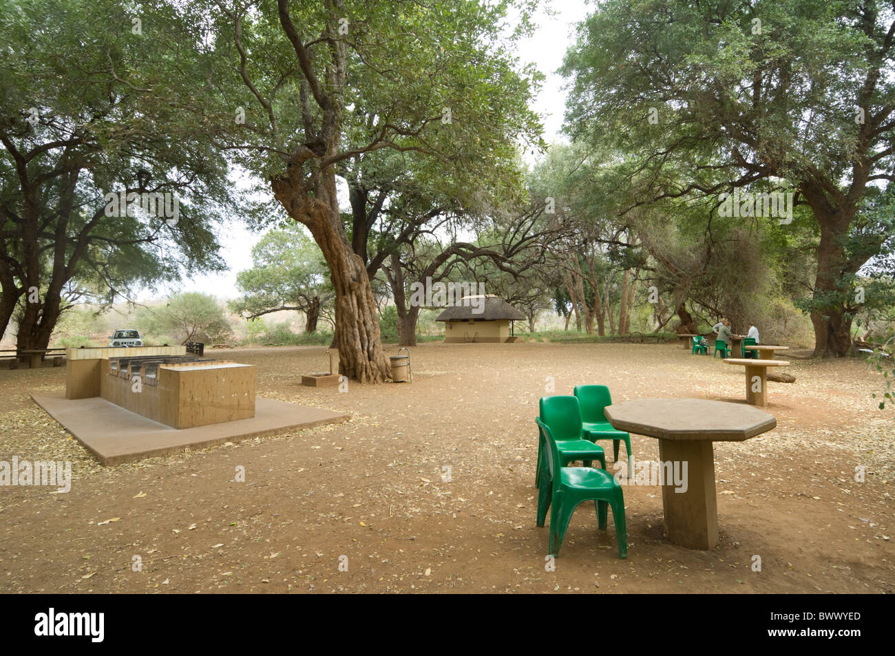 Pafuri Picnic Site Kruger National Park South Africa Stock Photo