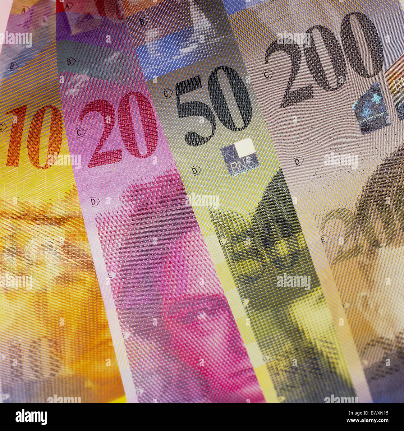 20 swiss franc stock photos 20 swiss franc stock images alamy currency swiss franc chf switzerland europe bank notes bills new 10 20 50 200th finances buycottarizona Images